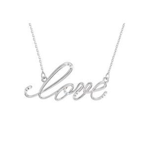 Love S.S. Diamond Pendant