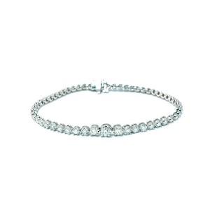 Graduated Diamond Bracelet