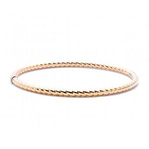Gold Scalloped Bracelet