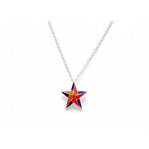 Syracuse University Inspired Star Pendant