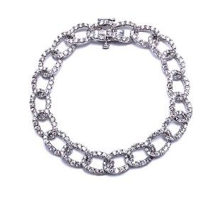 Diamond Open Link Bracelet