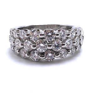 Diamond Wedding Band 2.06ct