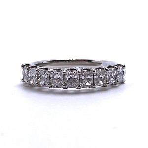 Diamond Trellis Wedding Band