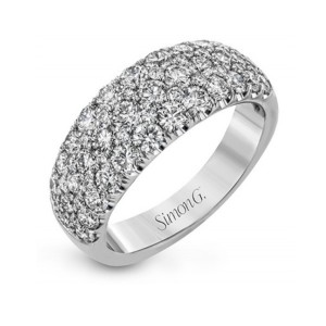 Simon G. Diamond Wedding Band