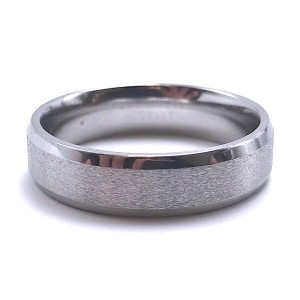 Men's Cobalt Chrome Wedding Band