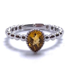 Ladies Citrine Ring