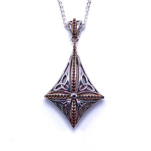 Sterling Silver Compass Pendant by Keith Jack