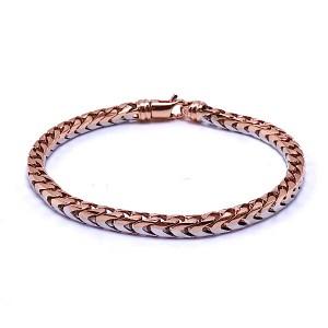 Ladies Gold Franco Link Bracelet