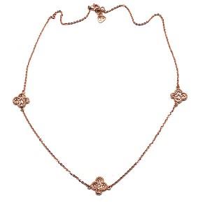 Clover Design Gold Necklace