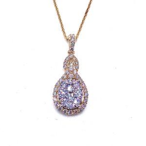 Multi Diamond Pendant