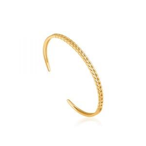 Ania Haie Curb Chain Cuff Bracelet