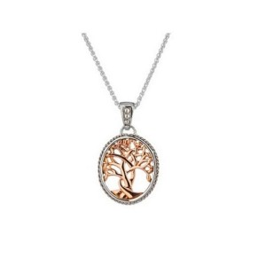 Sterling Silver Tree of Life Necklace by Keith Jack