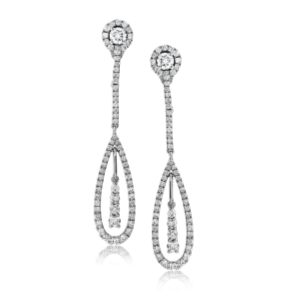 Simon G. Diamond Drop Earrings