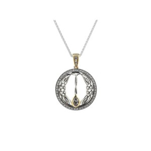 Sterling Silver Gateway Necklace by Keith Jack