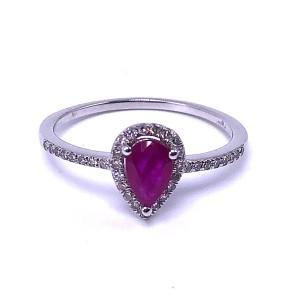 Ladies Ruby & Diamond Ring