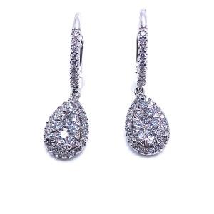 Multi Diamond Earrings by LoveBright