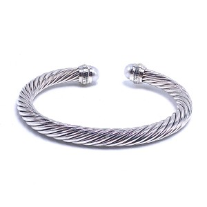 Estate David Yurman Pearl & Gold Cuff Bracelet