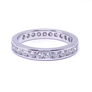 Estate Channel Eternity Ring