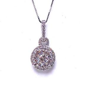 Lovebright Multi Diamond Pendant