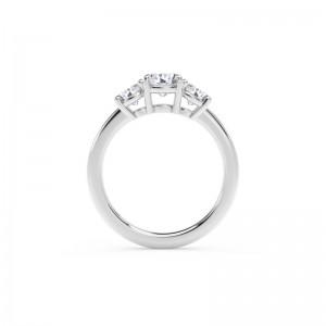 Forevermark Journey™ Three Stone Ring