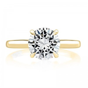 A.JAFFE Classic Solitaire Engagement Semi Mount