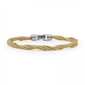 Alor Yellow Cable Bracelet