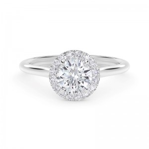 Forevermark Center of My Universe® Round Halo Engagement Ring