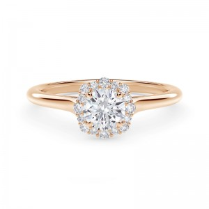 Forevermark Center of My Universe® Floral Halo Engagement Ring