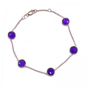 Amethyst  Bracelet by Olivia B