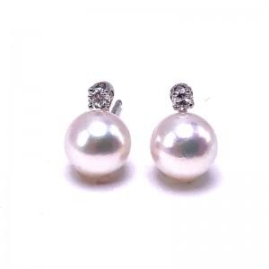 Akoya 7mm Pearl Earrings