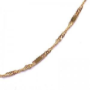 Singapore Gold Necklace