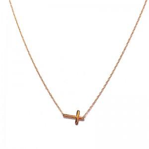 Mini Gold Cross Pendant