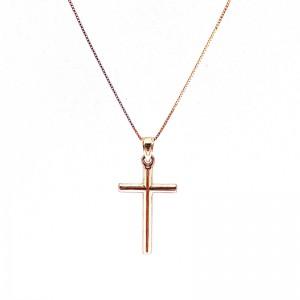 Polished Gold Cross