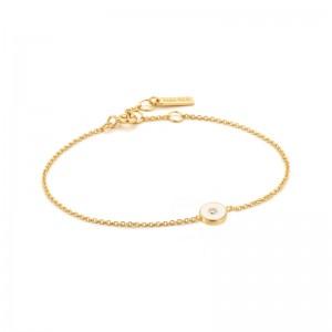 Ania Haie Enamel Disc Bracelet
