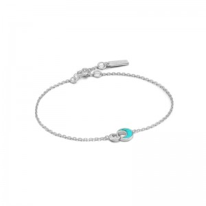 Ania Haie Tidal Turquoise Bracelet