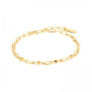 Ania Haie Yellow Heavy Spike Bracelet