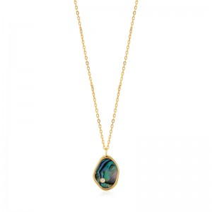 Ania Haie Tidal Abalone Necklace