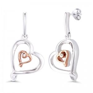 Sterling Silver Fashion Earrings