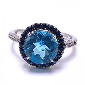 Estate Ladies Multi Stone Ring