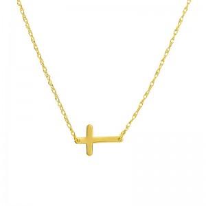 Mini Cross Necklace