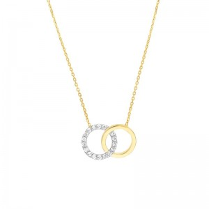 Intertwine Circle Necklace