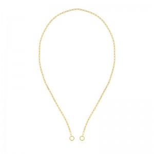 Paper Clip Open Chain Necklace