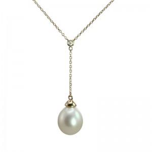 Fresh Water Pearl Pendant by Olivia B