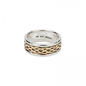 Celtic Weave 'Kelty' Ring by Keith Jack