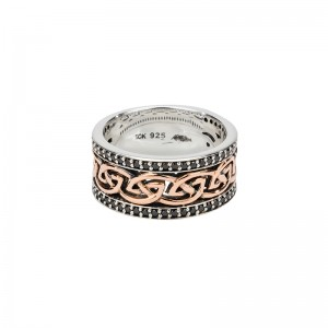 Eternity Knot 'Aylith' Ring by Keith Jack