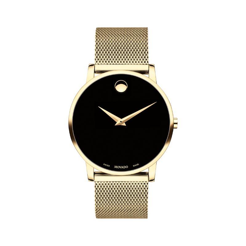 Movado Men's Museum ClassicBlack Dial Watch