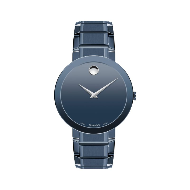 Men's Movado Sapphire Watch