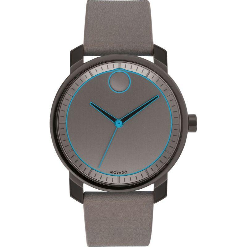 Movado Bold Grey Dial Men's Watch