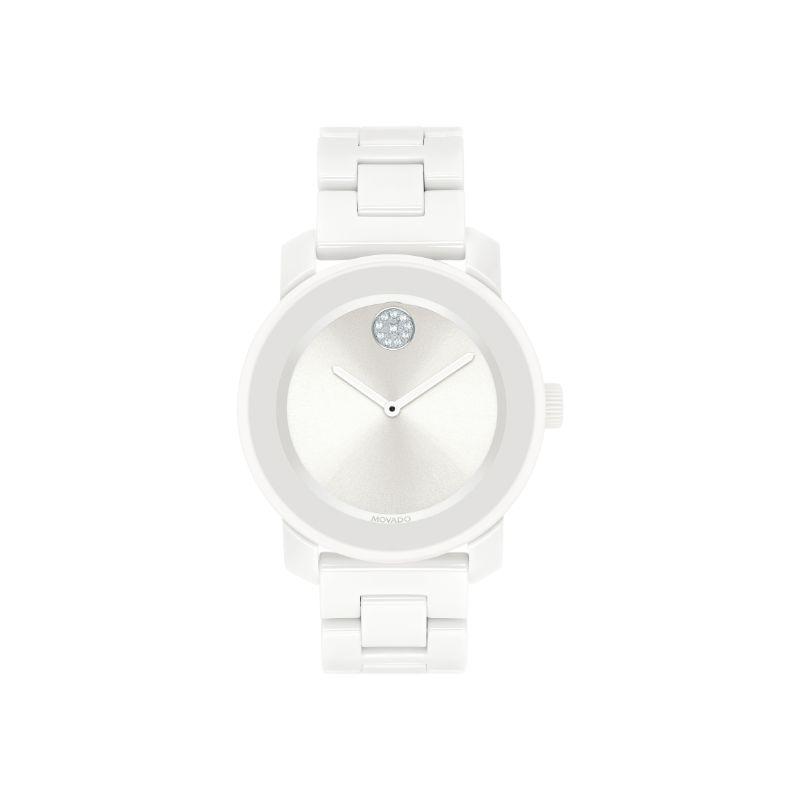 Movado Bold Quartz White Dial Women's Watch